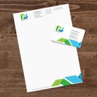 Praktik servis - hlavičkový papier a vizitky